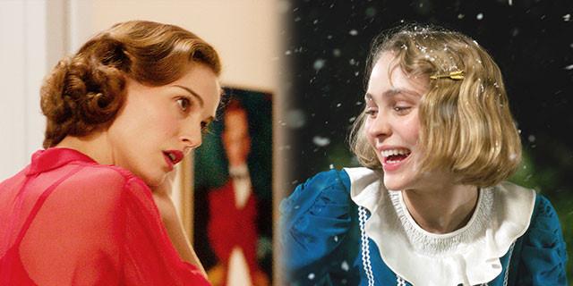 ポートマンは野心的な姉ローラ、デップは純粋な妹ケイトと真逆の役柄を演じている