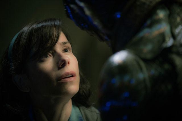 「彼」を愛するイライザ役のサリー・ホーキンスは、アカデミー賞主演女優賞ノミネート