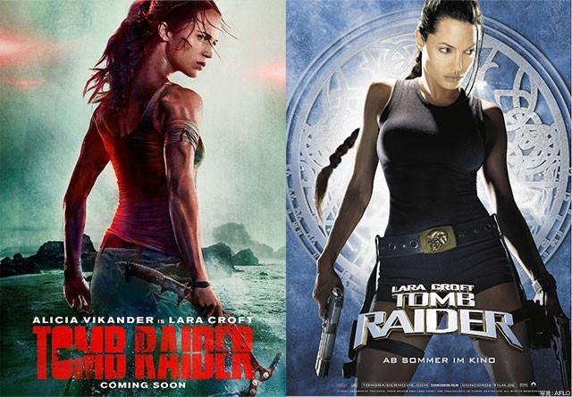 今回のアリシア・ビカンダー版ララ(左)は、アンジー版(右)よりもしなかやに!