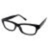 穴開きメガネ。