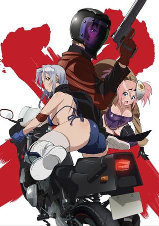 「トリアージX」アニメビジュアル