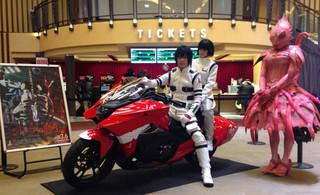 「劇場版 シドニアの騎士」仕様のHondaバイクが初お披露目!