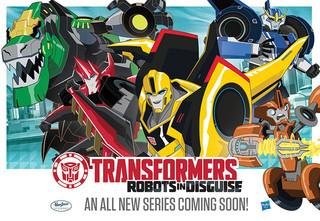 「トランスフォーマー ロボッツインディスガイズ(Transformer Robots in Disguise)」