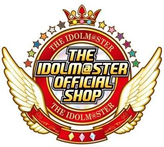 「アイドルマスターオフィシャルショップ」ロゴ