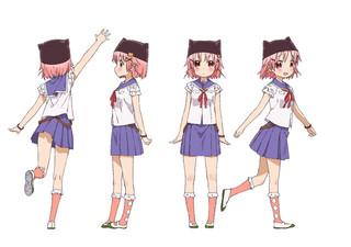 7月放送開始TVアニメ「がっこうぐらし!」\u201cゆき\u201d\u201cくるみ\u201dら