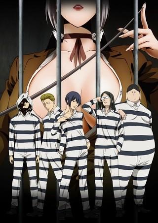 TVアニメ「監獄学園」の制作発表会でメインキャスト5名を発表