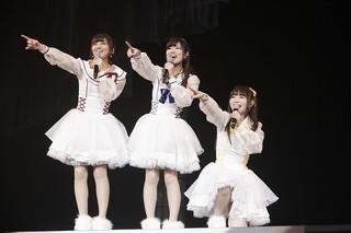 "「Trident 1st LIVE ""Blue Snow"" 2015.3.22」の様子"