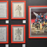「大河原邦男展」展示の様子