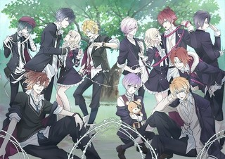 「DIABOLIK LOVERS MORE,BLOOD」キービジュアル