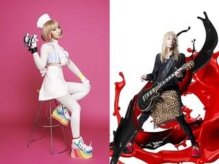 「コンクリート・レボルティオ~超人幻想~」OP主題歌を担当するZAQ(左)とEDテーマを担当する山本陽介(右)