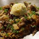 「ほぼろ焼き・極」が味わえる 「たまゆら」と広島県竹原市のお好み焼き店「ほり川」が恒例コラボ