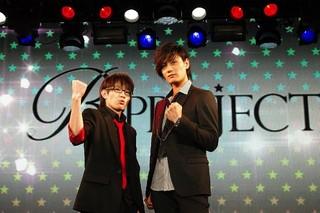 ラジオ番組「Bプロラジオ『ガンダーラBB』」で司会を務める豊永利行(左)と加藤和樹(右)