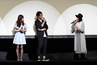 「劇場版 蒼き鋼のアルペジオ ‐アルス・ノヴァ‐ Cadenza」先行上映会の様子