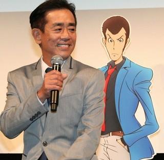 新TVシリーズ「ルパン三世」をアピールした栗田貫一