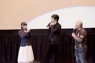 「ガールズ&パンツァー TVシリーズ+OVA一挙上映イベント」の一幕