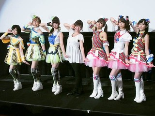 劇場版「プリパラ」舞台挨拶で来春の完全オリジナル新作映画を発表! 紺野あさ美はキレキレのダンスを披露