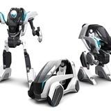 「マクロス」の河森正治がトヨタ車体とコラボ 東京モーターショー2015で3段変形ロボットをお披露目