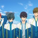 映画「ハイ☆スピード!」新規場面カット公開 メインキャラ4人集合に筋トレシーンも