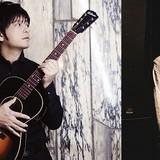 主題歌を担当する押尾コータロー(左)と尾崎雄貴