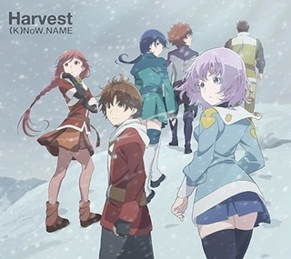 ED主題歌「Harvest」ジャケット