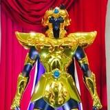 「聖闘士星矢」30周年企画展に黄金聖闘士の等身大立像全12体が集結!