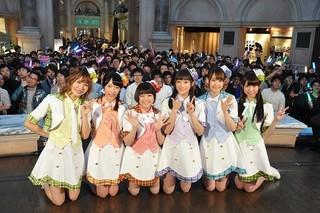 「i☆Ris 11thシングル『Goin'on』予約イベント in ヴィーナスフォート」の様子