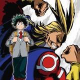 「僕のヒーローアカデミア」キービジュアル