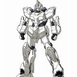 ユニコーンガンダム(ユニコーンモード) 型式番号:RX-0 全高:19.7m 本体重量:23.7t 地球連邦軍から依頼され、アナハイム・エレクトロニクス社がひそかに進めていた「UC計画」のもと、開発された試作モビルスーツ。前身純白に輝く機体には人類の未来を揺るがせるというある秘密が隠されている…。