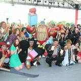 「ONE PIECE」炎天下のコスプレイベントで500人熱狂!