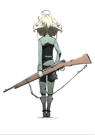 「幼女戦記」ティザービジュアル