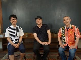左から、吉浦康裕監督、出渕裕、伊藤和典