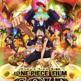 「ONE PIECE FILM GOLD」初回版ブルーレイ&DVDにイヤホンやボードゲーム付属