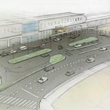 南多摩駅前の完成イメージ