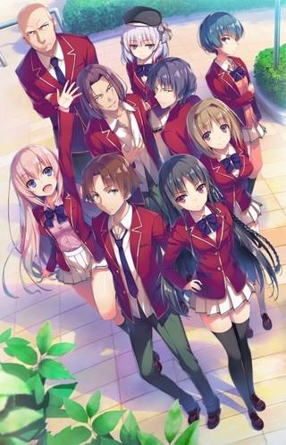 衣笠彰梧&トモセシュンサクの人気小説「ようこそ実力至上主義の教室へ」7月TVアニメ化!