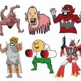 「DC スーパーヒーローズ VS 鷹の爪団」予算表公開!怪人利用権オークションも開催