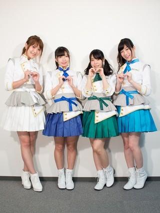 左から、May'n、永野愛理、奥野香耶、青山吉能