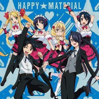 オープニング主題歌「ハッピー☆マテリアル」CDジャケット(10月25日発売)