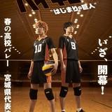 舞台「ハイキュー!!」第5弾、出演者はシリーズ最多33人 春高予選に期待高まるビジュアル完成