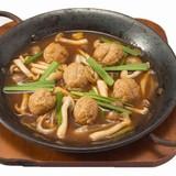 鶏のチタタプ オハウ仕立て味噌風味