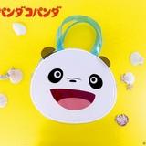 「パンダコパンダ」パンちゃんの顔型クリアバッグ&Tシャツなど新商品発売