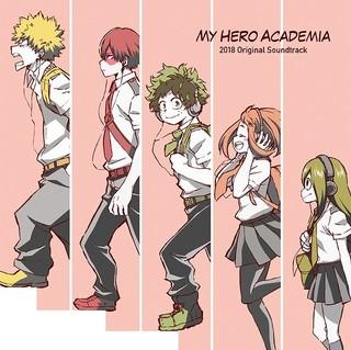 「僕のヒーローアカデミア」第3期&劇場版の劇伴を収録したサントラCD、2枚組みで7月18日発売