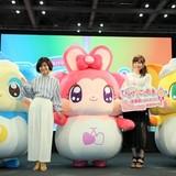 発表会には高橋未奈美&伊瀬茉莉也が登壇