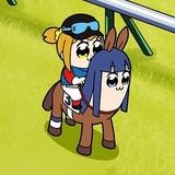JRA×ポプテピピック、完全新作WEBアニメ公開 豪華声優4人の再結集が実現