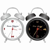 目覚まし時計はキャラクターの声を収録