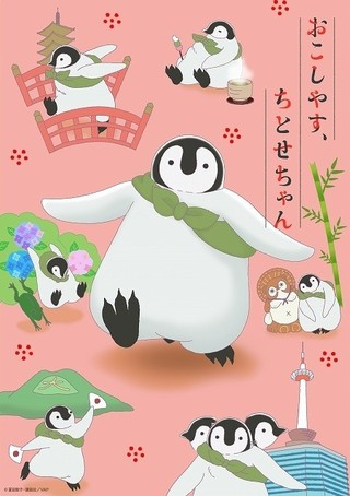 子ペンギンのちとせちゃんが見た京都描く「おこしやす、ちとせちゃん」TVアニメ化