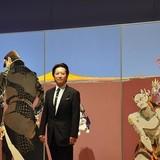 荒木飛呂彦氏、原画展「ジョジョ」新作大型原画に込めた思い「キャラクターを等身大で感じて」