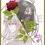 「幽☆遊☆白書」仙水編ブルーレイボックス先着購入特典に、若き日の仙水と樹を描いたミニ色紙