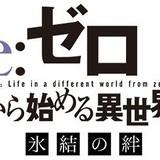 「Re:ゼロから始める異世界生活 氷結の絆」ロゴ