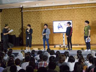 「鬼滅の刃」炭治郎役・花江夏樹の初ステージ&生アテレコ披露 ジャンプSPフェスタで最新映像公開