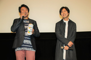 神谷浩史(右)と井上和彦